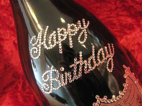 シャンパンデコ HAPPY BIRTHDAY ロゴ
